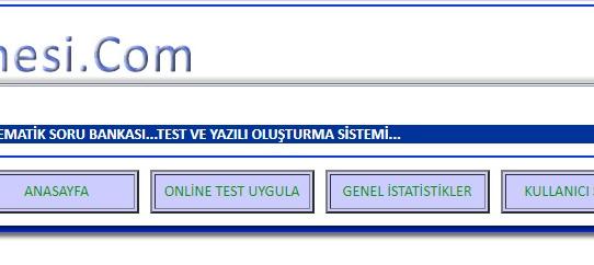 TestMakinesi.com güncellendi...