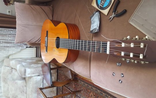 gitarıma yeni takım tel....