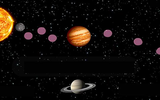 Gezegen Puzzle Oyunu