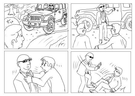 onikinci sayfa ilk çizimler...