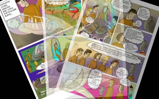 çizgi öyküye 3 yeni sayfa daha eklendi...