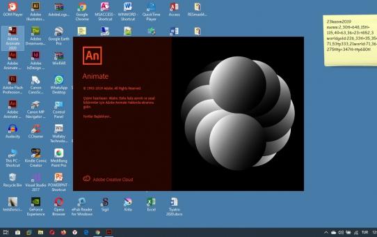 Adobe Animate 2020 güncellemesi geldi...