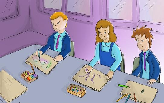 Resimli Çocuk Öyküleri yeni hazırlanan sayfalar...