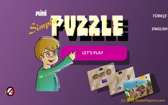 Mini Simple Puzzle yeni sürümü